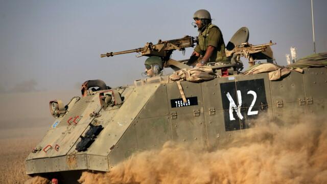 Razboi in Fasia Gaza. Duminica a fost cea mai sangeroasa zi a conflictului: 100 de palestinieni si 13 israelieni au murit