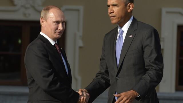 Barack Obama si Vladimir Putin: Criza din Ucraina nu este in interesul SUA si Rusiei