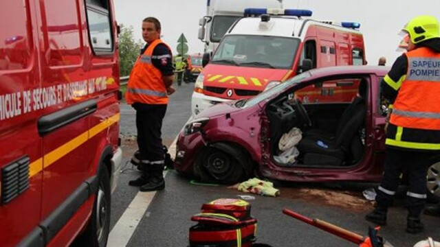 Influentata de GPS, o soferita din Belgia a fost la un pas de moarte. A intors masina brusc in mijlocul autostrazii