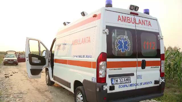 Doua persoane au murit si alte doua au fost ranite, dupa ce doua masini s-au ciocnit in Buzau