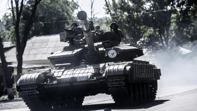 trupe proruse in estul ucrainei