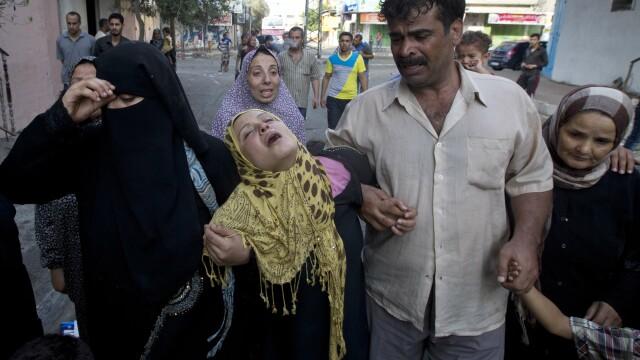 Razboi in Gaza. ONU a condamnat atacul israelian asupra unei scoli palestiniene, care a dus la moartea a 16 persoane