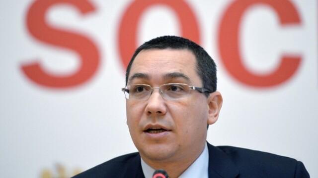 Scrisoarea lui Victor Ponta catre Blaga, Iohannis, Hunor si Udrea: \