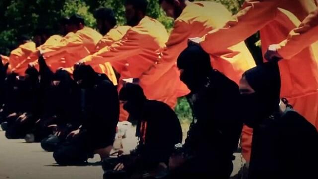 13 jihadisti ISIS, executati de Armata Islamului, o grupare de rebeli sirieni: \