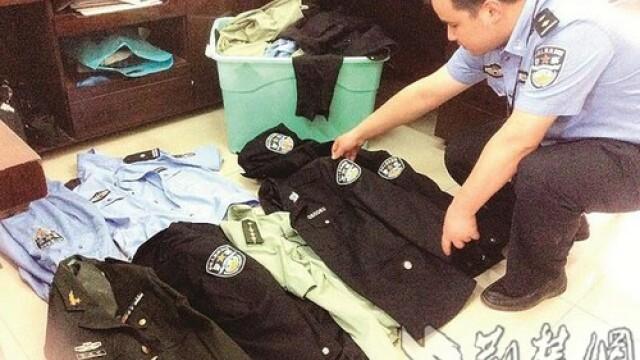 Un escroc din China si-a facut sectie de politie in apartament si s-a dat drept agent. Cum a fost prins in final - Imaginea 3