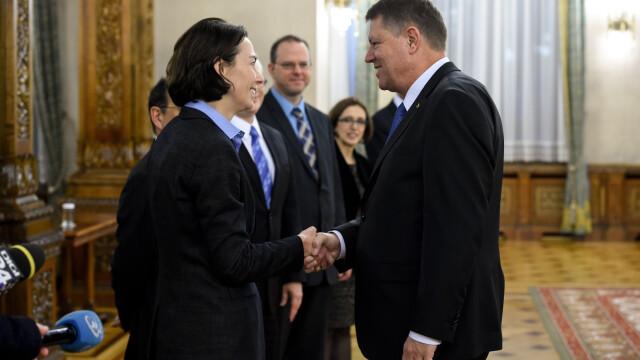 Andrea Schaechter (S), seful misiunii FMI pentru Romania