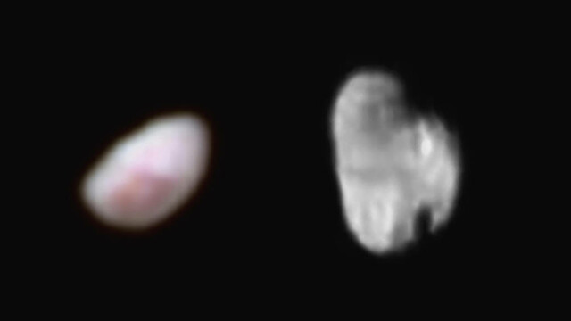 NASA a publicat noi imagini cu satelitii Nix si Hydra ai planetei Pluto. Ce se observa daca te uiti de aproape