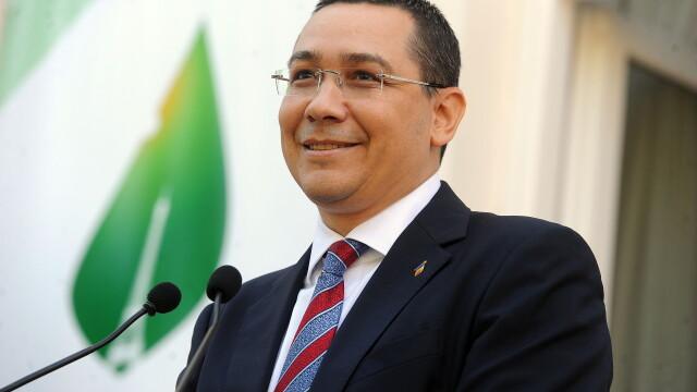 Ponta, despre discursul lui Klaus Iohannis: \