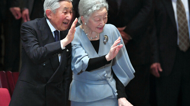 imparatul Akihito al Japoniei - Getty Images