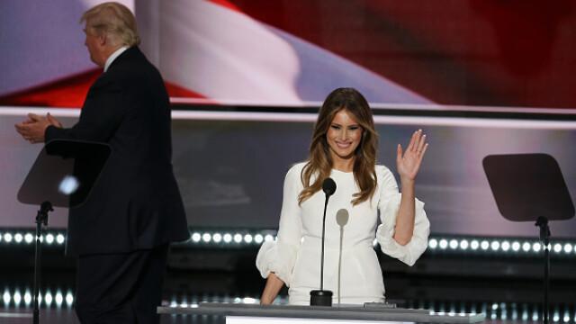 Melania Trump ar fi plagiat cuvant cu cuvant pasaje intregi din discursul tinut in urma cu 8 ani de Michelle Obama: VIDEO