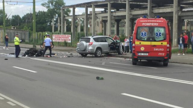 Doi motociclisti au murit intr-un accident grav, la Brasov. Marian Godina a fost printre martorii tragediei - Imaginea 1