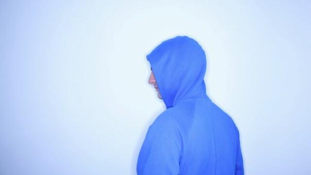 hanorac albastru