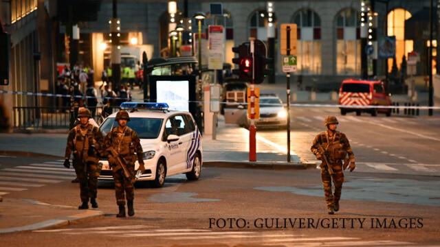 Belgia, in alerta terorista. De ce se tem autoritatile de un nou atentat in urmatoarele ore