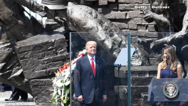 Discursul lui Donald Trump in Varsovia. I-a laudat pe polonezi si lansat acuzatii dure catre Rusia. Reactia Kremlinului - Imaginea 3