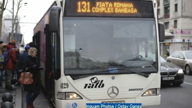 Controlorii RATB vor verifica de azi cartelele la urcarea in mijlocul de transport. Zonele si orele vizate