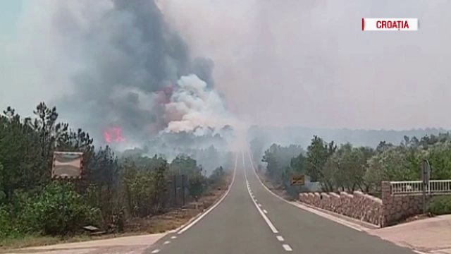 Incendiu de proportii in 5 tari din Europa