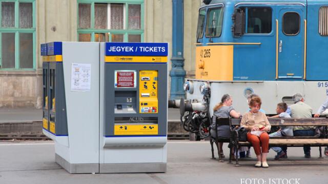 Toate trenurile internationale care trec prin Ungaria, oprite si evacuate. Politia cauta o bomba