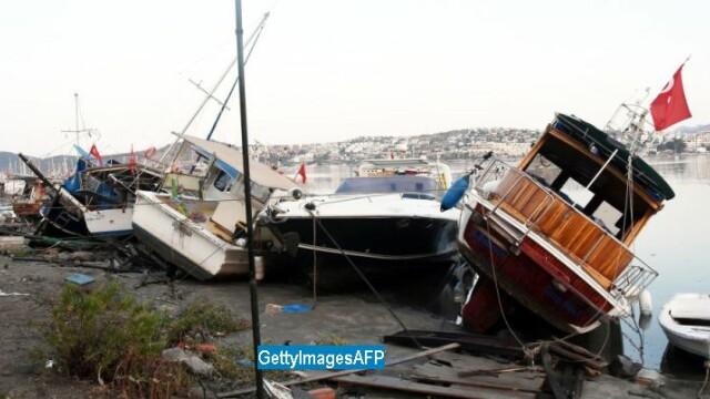 Cutremur cu magnitudinea 6,7 in Turcia si Grecia