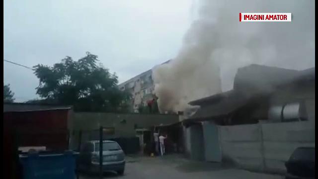 incendiu Targoviste
