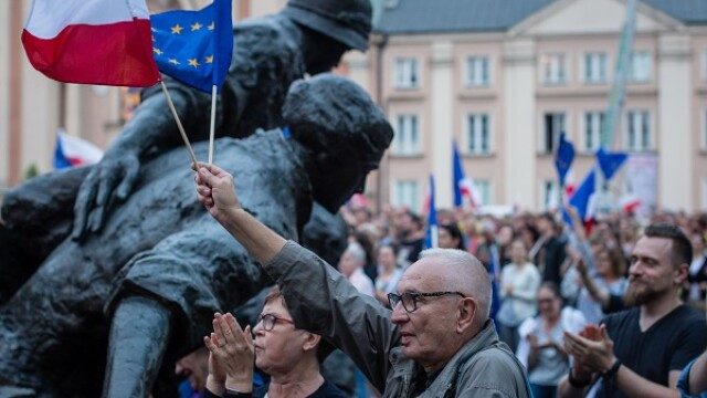 Protest Polonia - AFP/Getty
