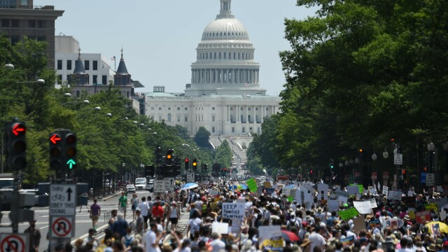 Protest SUA