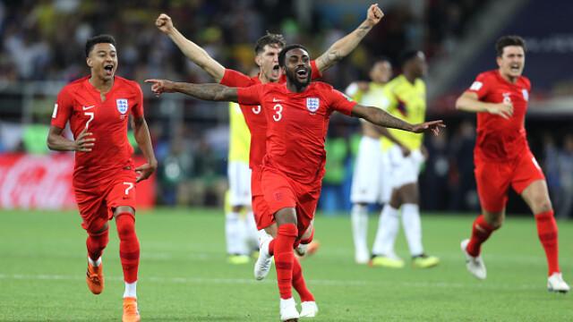 Cupa mondială 2018. Anglia, calificată în sferturi, după o victorie în faţa Columbiei la loviturile de departajare