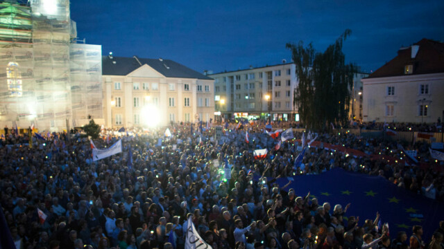 protest polonia