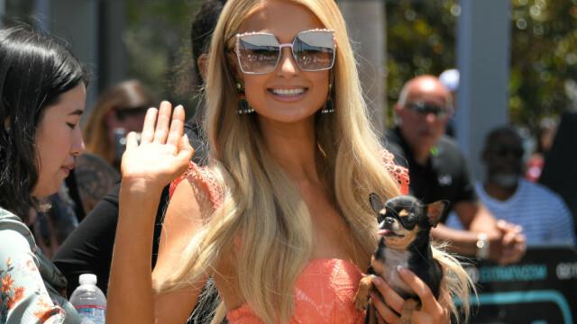 Paris Hilton, accident vestimentar. Ce s-a văzut când a coborât din maşină - Imaginea 4