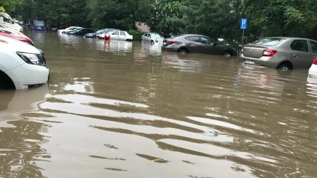 inundații Capitală
