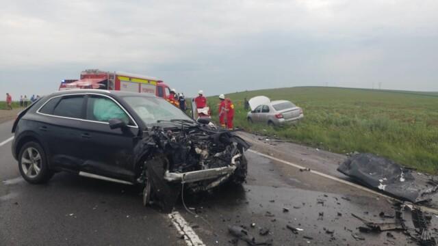 Accident cu trei morți lângă Iaşi. Ce ar fi făcut unul dintre şoferi înainte de tragedie