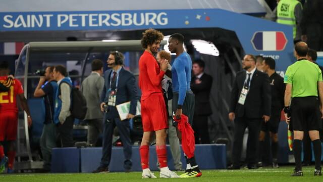 Franța - Belgia 1 - 0. Umtiti i-a calificat pe francezi în finala CM 2018