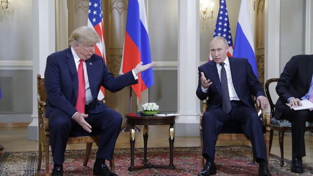 Momentul în care Donald Trump îi face cu ochiul lui Vladimir Putin. VIDEO