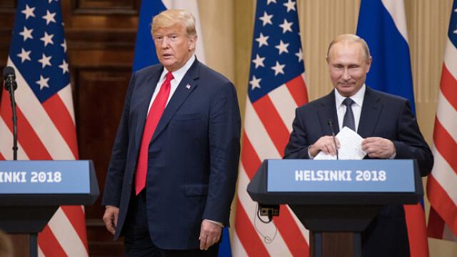 """Donald Trump, criticat după întâlnirea cu Vladimir Putin. """"E rușinos"""""""