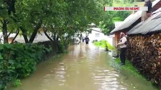 Bărbat din Neamț, mort după ce a fost luat de viitură. Primul lui gând, să îşi salveze animalele