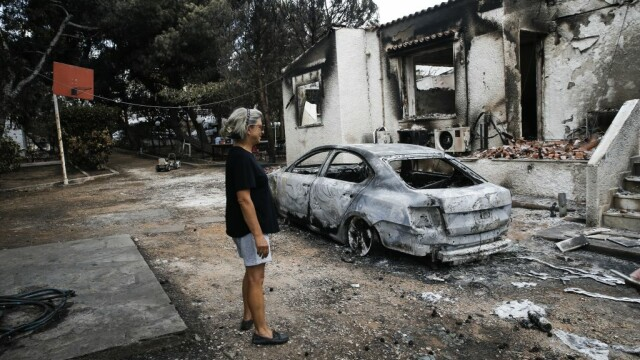 83 de morți în Grecia. Confruntare între autorități și oamenii disperați: \