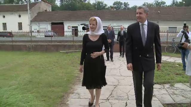 Doi ani de la moartea Reginei Ana. Principesa Margareta a mers la o slujbă de pomenire, la Săvârșin