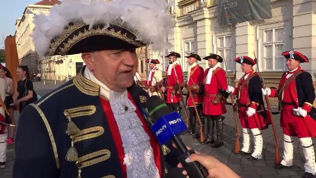 Moment istoric la Timișoara. Schimbul de gardă, obicei vechi de 300 de ani