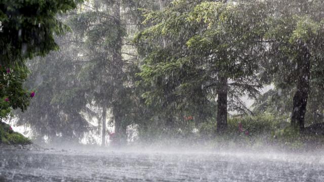 Cod galben de ploi şi vijelii în mare parte a ţării, până sâmbătă seara