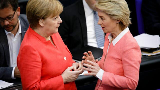 Von der Leyen ar putea deveni prima femeie șef al CE. Este ginecolog și are 7 copii