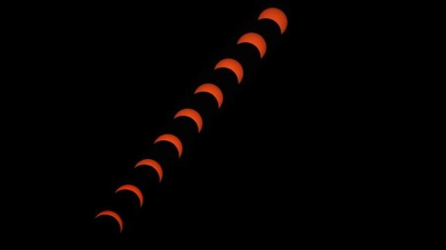 Cum a fost trăită eclipsa totală de soare în Chile și Argentina