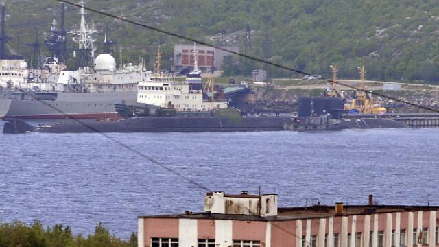 Primele imagini cu submarinul nuclear Loșarik după tragedie. Anunț în premieră al Rusiei - Imaginea 2