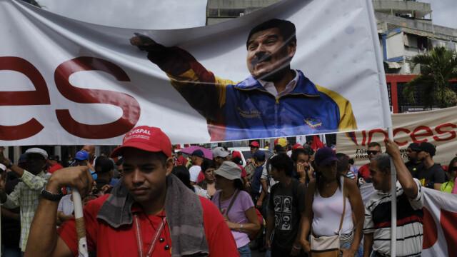 Paradă militară impresionantă organizată de Maduro în Venezuela - Imaginea 8
