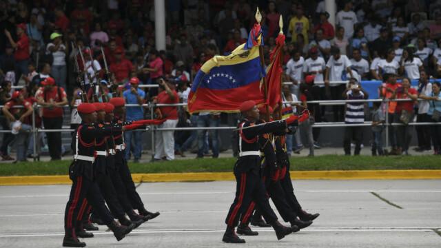 Paradă militară impresionantă organizată de Maduro în Venezuela - Imaginea 7