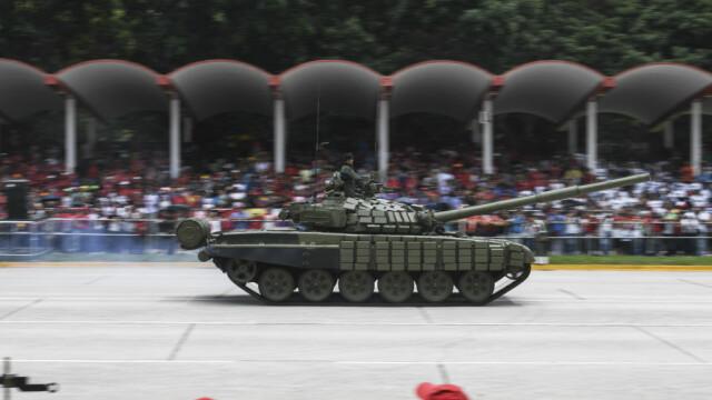 Paradă militară impresionantă organizată de Maduro în Venezuela - Imaginea 5