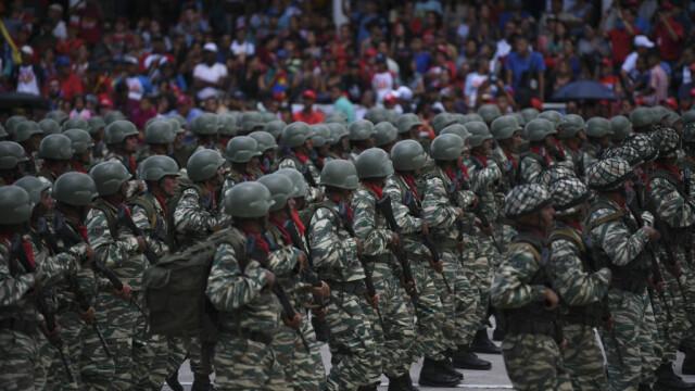 Paradă militară impresionantă organizată de Maduro în Venezuela - Imaginea 4
