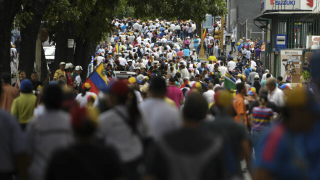 Paradă militară impresionantă organizată de Maduro în Venezuela - Imaginea 3