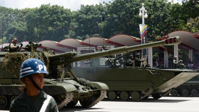 Paradă militară impresionantă organizată de Maduro în Venezuela - Imaginea 2