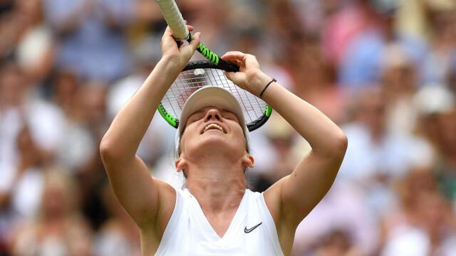 """Halep, după calificarea în finala de la Wimbledon: """"E unul dintre cele mai frumoase momente"""""""