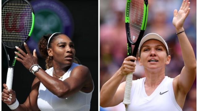 Simona Halep - Serena Williams, finala Wimbledon 2019