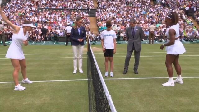 Simona Halep, prima campioană a României la Wimbledon. Victorie istorică, în mai puţin de o oră - Imaginea 1